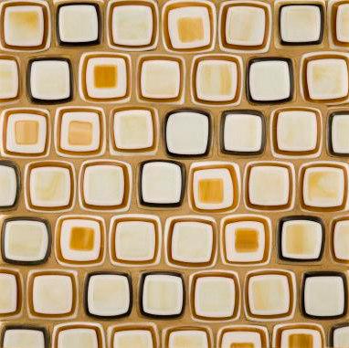 Quilt medium squares glass mosaic de Ann Sacks | Mosaïques verre