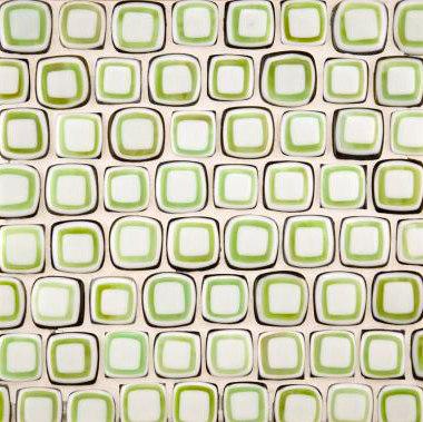 Quilt small squares glass mosaic de Ann Sacks | Mosaïques verre