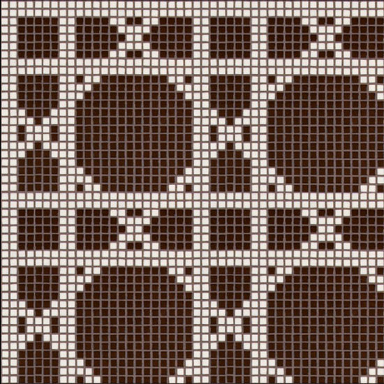 Vienna Marrone mosaic di Bisazza | Mosaici pareti