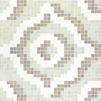 Velvet White mosaic by Bisazza | Glass mosaics