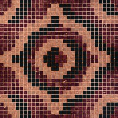 Velvet Brown mosaic by Bisazza | Glass mosaics
