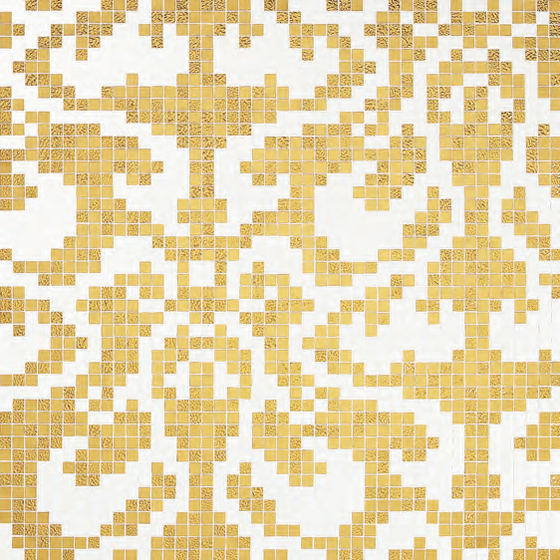 Damasco Oro Giallo mosaic by Bisazza | Mosaics