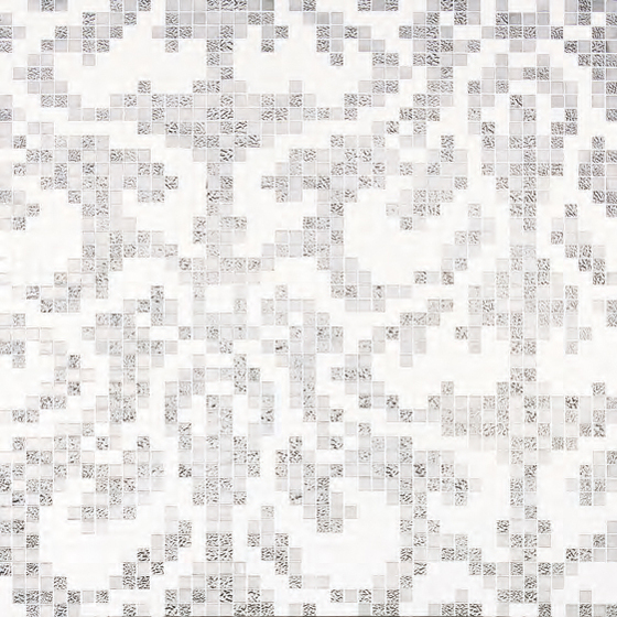 Damasco Oro Bianco mosaic by Bisazza | Glass mosaics