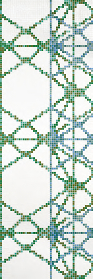Treillage B mosaic by Bisazza | Glass mosaics