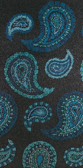 Paisley mosaic von Bisazza | Glas-Mosaike