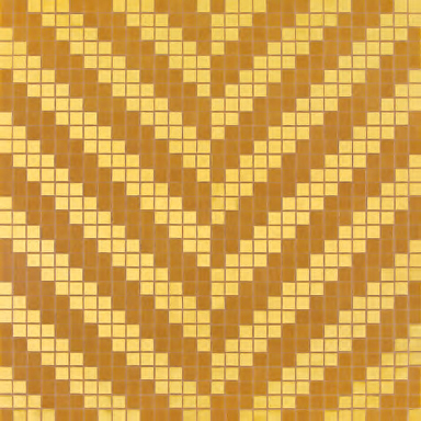 Twill Oro Giallo mosaic by Bisazza | Glass mosaics
