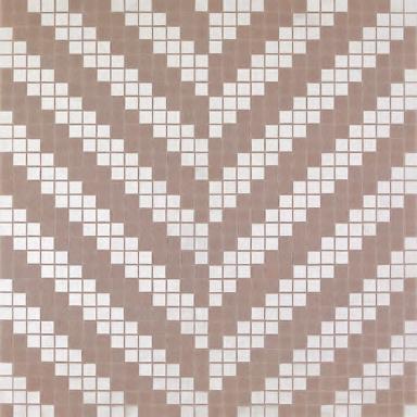 Twill Oro Bianco mosaic de Bisazza | Mosaïques verre