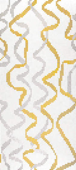 Festoon mosaic by Bisazza | Glass mosaics
