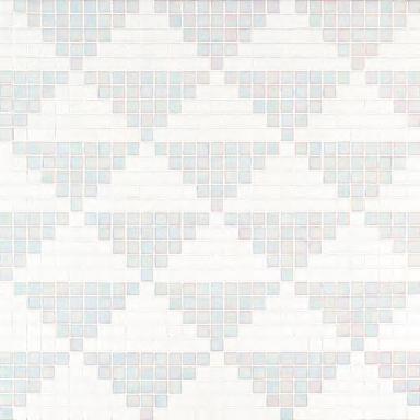Giza Bianco mosaic de Bisazza | Mosaicos
