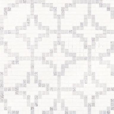 Etoiles Oro Bianco mosaic by Bisazza | Glass mosaics