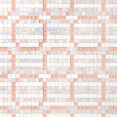 Rings Pink mosaic de Bisazza | Mosaicos