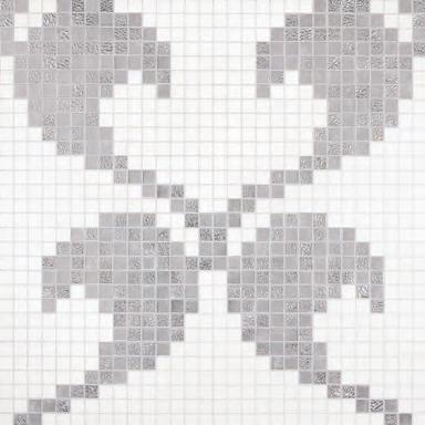 Hearts Oro mosaic by Bisazza | Glass mosaics