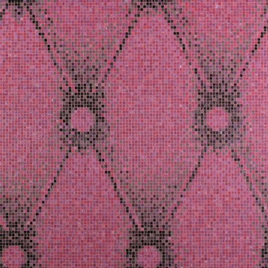 Chester Pink mosaic de Bisazza | Mosaïques verre