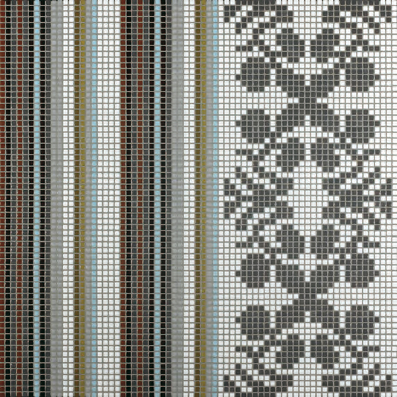 Wallpaper Grey mosaic di Bisazza | Mosaici vetro