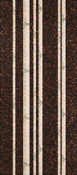 Bamboo Black A mosaic de Bisazza | Mosaïques verre