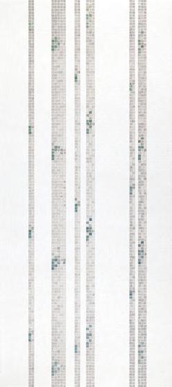Bamboo White A mosaic by Bisazza | Glass mosaics