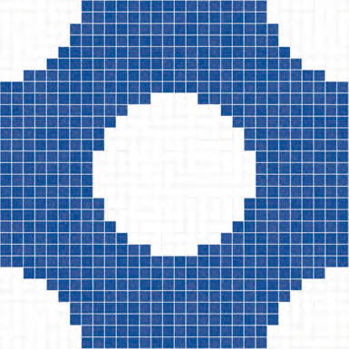 Corfu' mosaic de Bisazza | Mosaïques