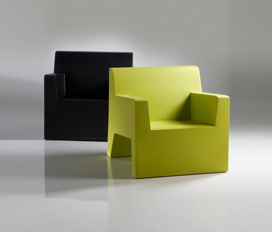 Jut armchair di Vondom | Poltrone da giardino
