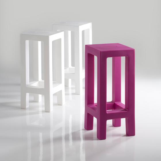 Jut stool di Vondom | Sgabelli da giardino