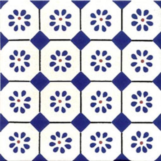 San rocco blu 20x20 piastrelle pareti giovanni de maio - Piastrelle di maio ...