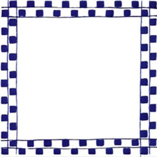 Greca Melinda Blu 20x20 by Giovanni De Maio | Wall tiles