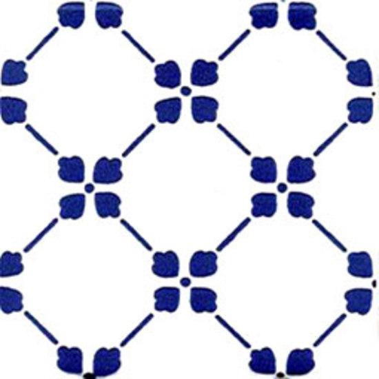 Palmettina Blu 20x20 by Giovanni De Maio | Wall tiles