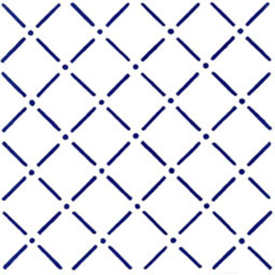 Bastoncello Blu 20x20 by Giovanni De Maio | Wall tiles
