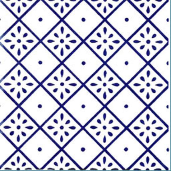 Giglio MF Blu 20x20 by Giovanni De Maio | Wall tiles