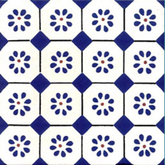 San Rocco Blu 10x10 by Giovanni De Maio | Wall tiles