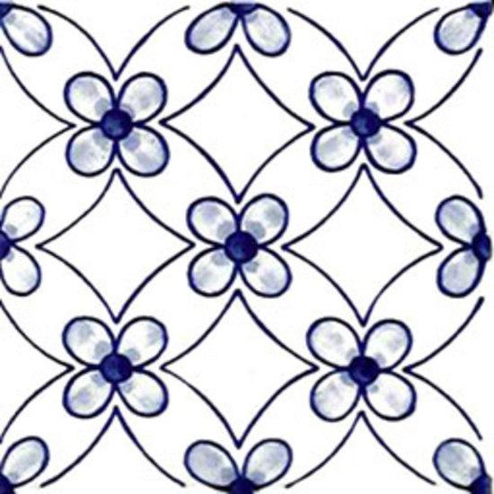 Milena Azzurro 10x10 by Giovanni De Maio | Wall tiles