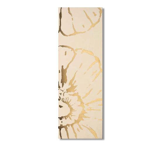 Glamour champagne oro 75x25 di Iris Ceramica | Piastrelle pareti