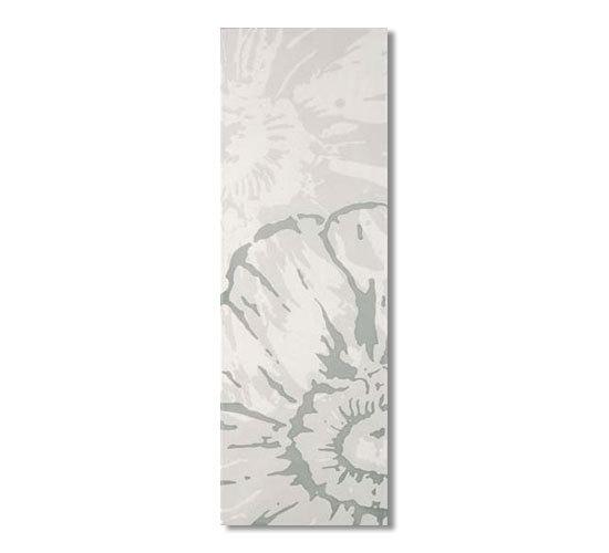 Glamour bianco fiore 75x25 di Iris Ceramica | Piastrelle per pareti