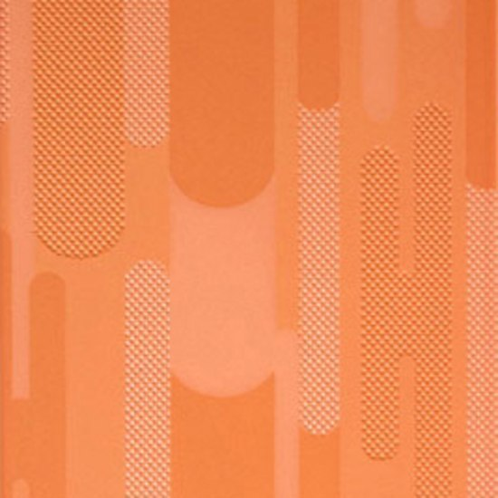 Ritmo Geometria arancio 20x33.3 by Iris Ceramica | Wall tiles