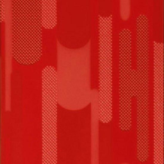 Ritmo Geometria rosso 20x33.3 by Iris Ceramica | Wall tiles