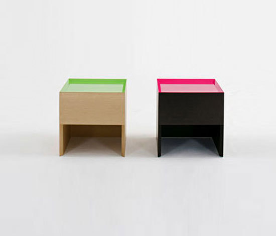 F.U. Side table di Dune | Comodini