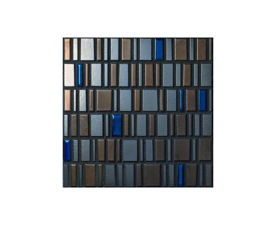 High Metal Blue 30x30 by Ceramiche Settecento | Mosaics