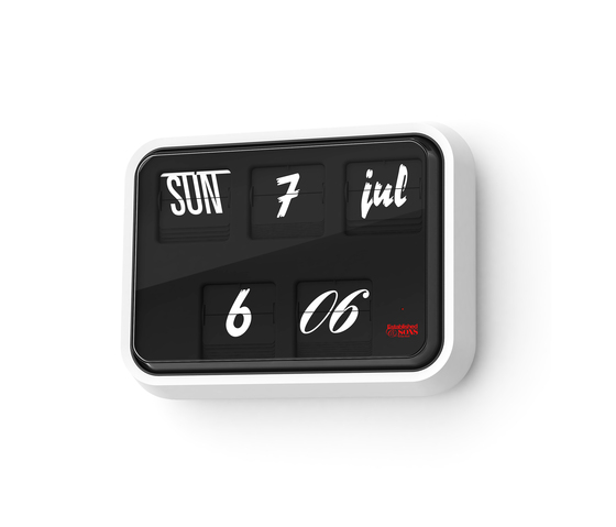 Font Clock G225 by Established&Sons | Clocks