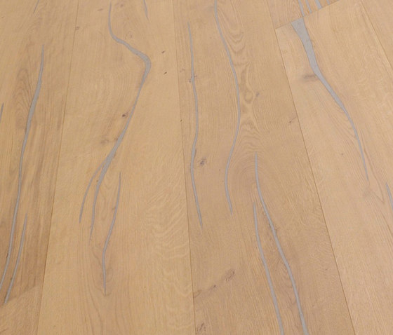 Coral OAK silver brushed | white oil by mafi | Wood flooring