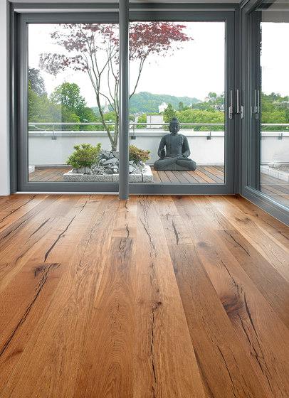 Tiger OAK black brushed   natural oil by mafi   Wood flooring