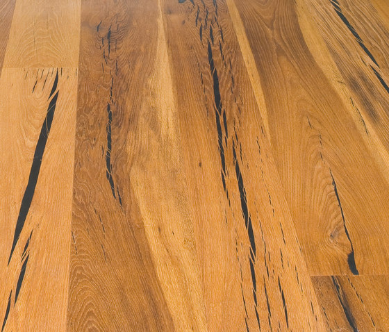 Tiger OAK black brushed | natural oil by mafi | Wood flooring