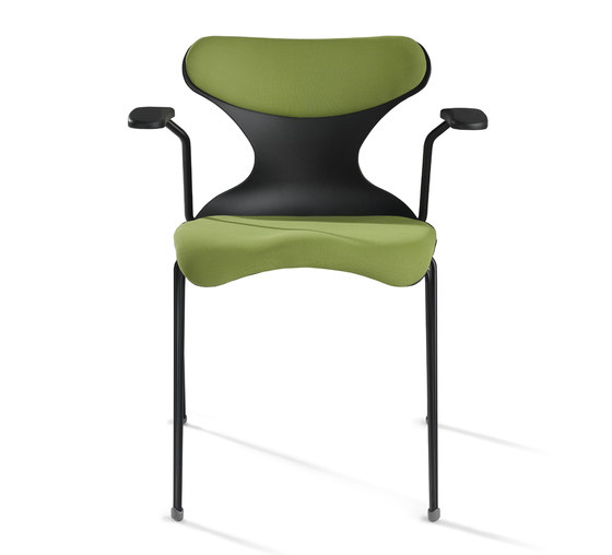Pad by Dynamobel | Visitors chairs / Side chairs