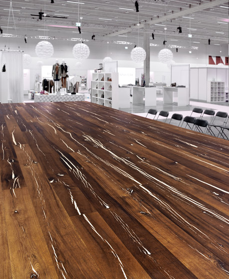 Tiger OAK white brushed | natural oil by mafi | Wood flooring
