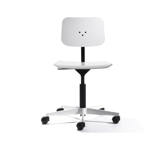 Mr. Square working chair di Lampert | Sedie girevoli da lavoro