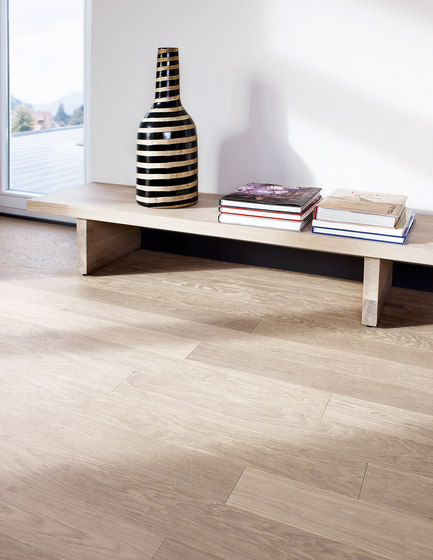 OAK Piccolino brushed | white oil by mafi | Wood flooring