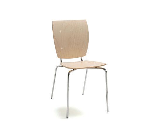 Kvadrat by Mitab | Multipurpose chairs