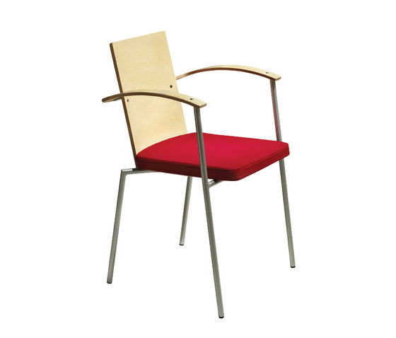 Saturnus by Mitab | Visitors chairs / Side chairs