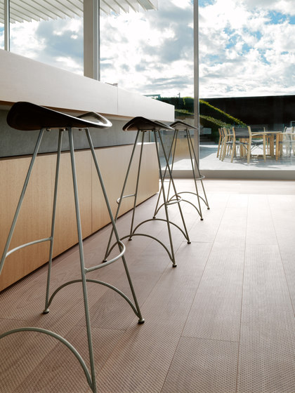 BEECH Vulcano Fresco Punto milled |  white oil by mafi | Wood flooring