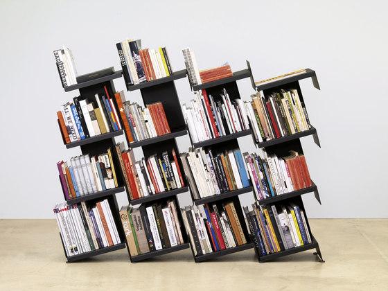 nan15 bookshelves di nanoo by faserplast | Portariviste
