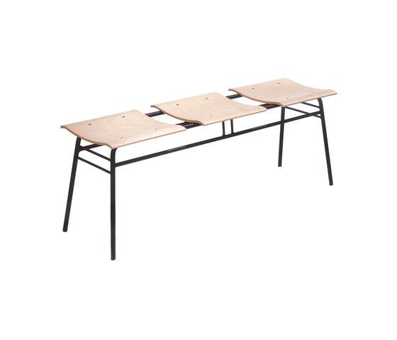 Vågen bench by Mitab | Beam / traverse seating