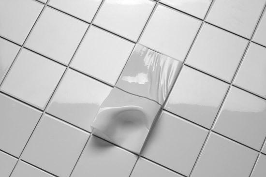 Found Space Tiles Shoulder by Cor Unum | Sanitaryware